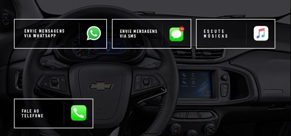 Tecnologia do Chevrolet Prisma 2018