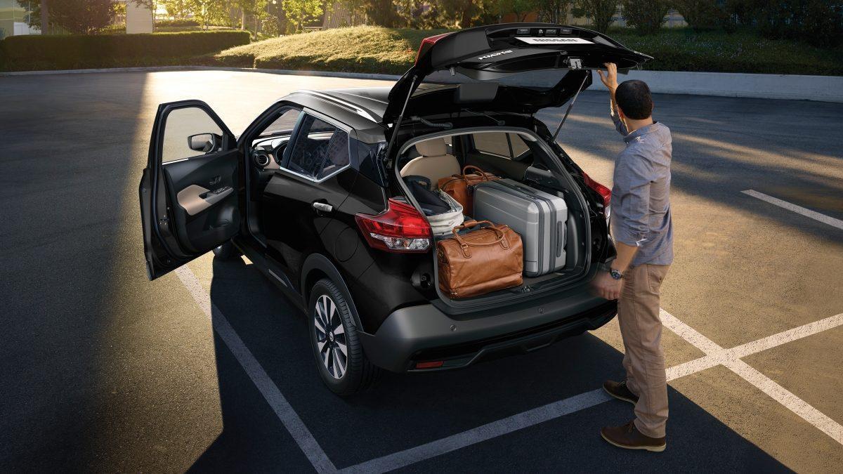 Interior Nissan Kicks 2018