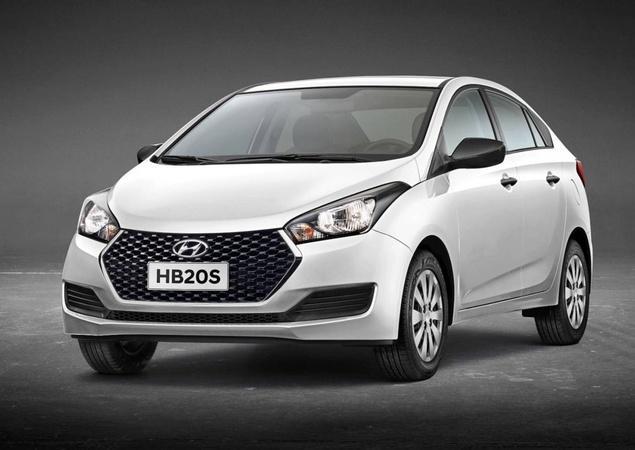 Novo Hyundai HB20s Unique