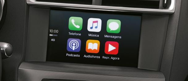 Novo Citroen C4 2018 tecnologia