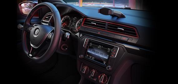 Interior VW Saveiro Cabine Dupla
