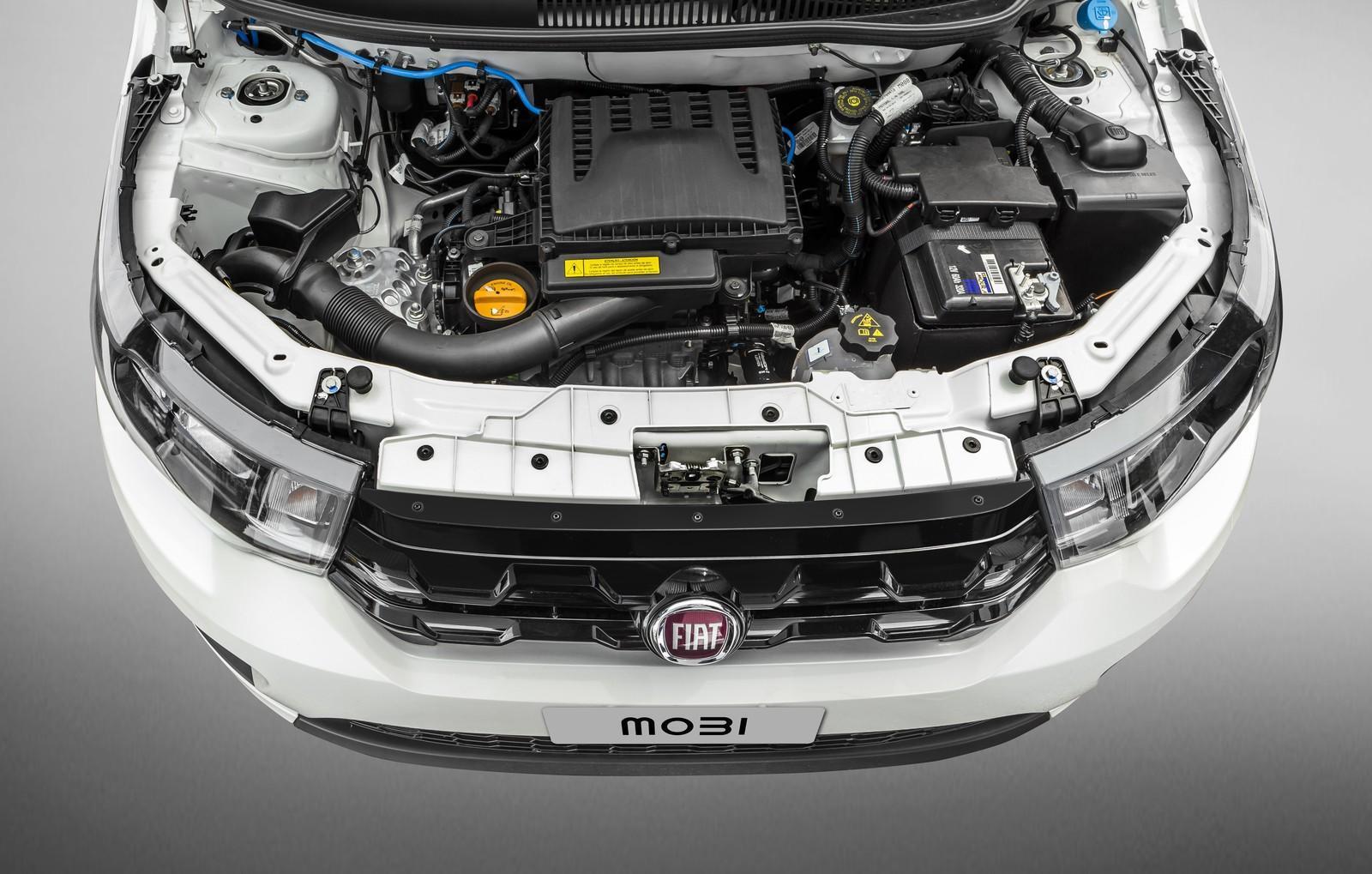 Motor do Fiat Mobi 2018