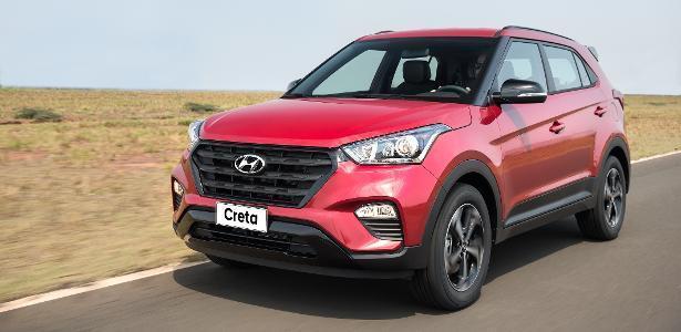 Hyundai Creta Sport 2018 Frente
