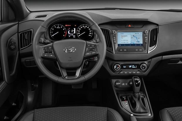 Conforto e interior do Hyundai Creta Sport 2018