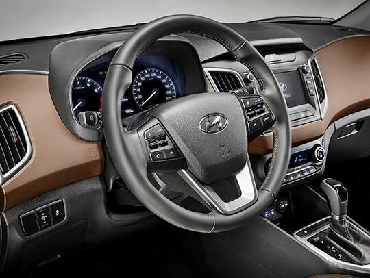 Interior do Novo Hyundai Creta 2018