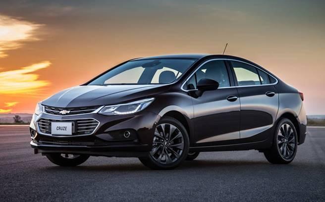 Novo Chevrolet Cruze 2018 LTZ
