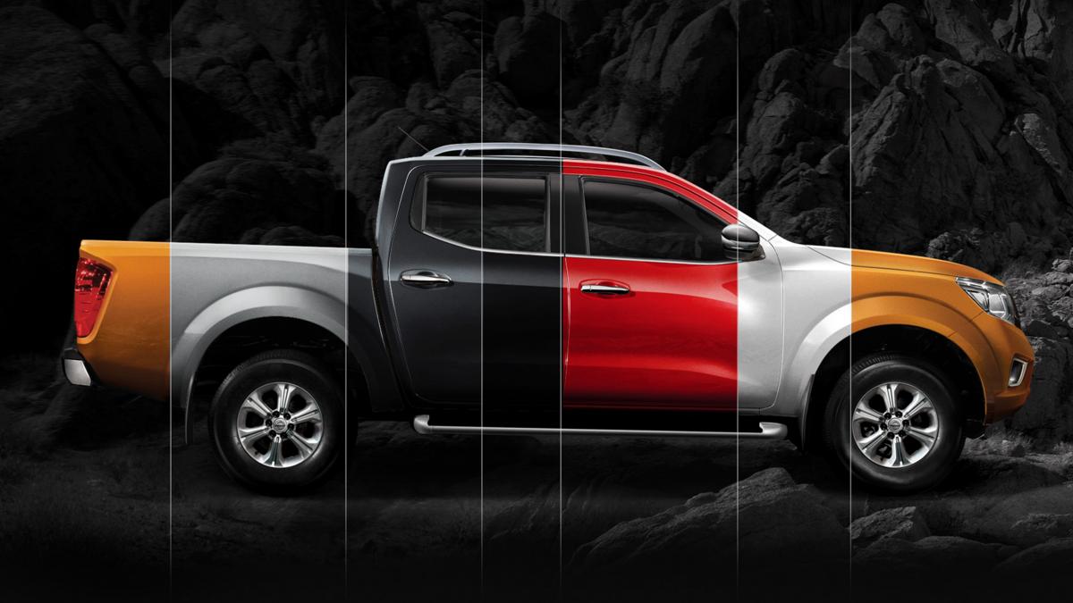 Cores disponíveis para a Nissan Frontier 2018