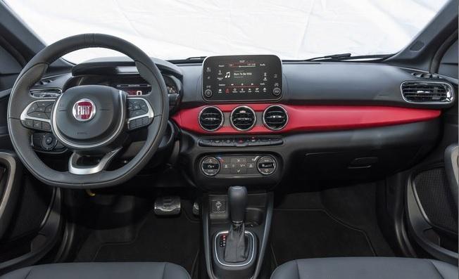 Fiat Argo 2018 interior