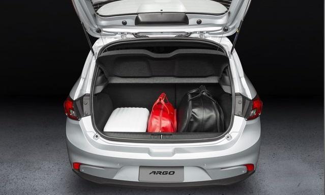 Porta-malas do Fiat Argo 2018
