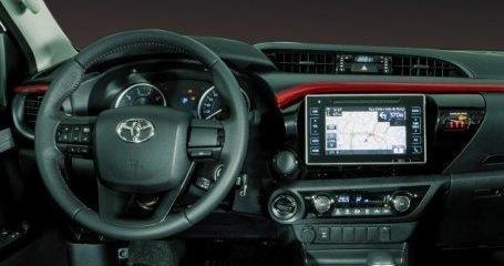Conectividade da Toyota Hilux 2018