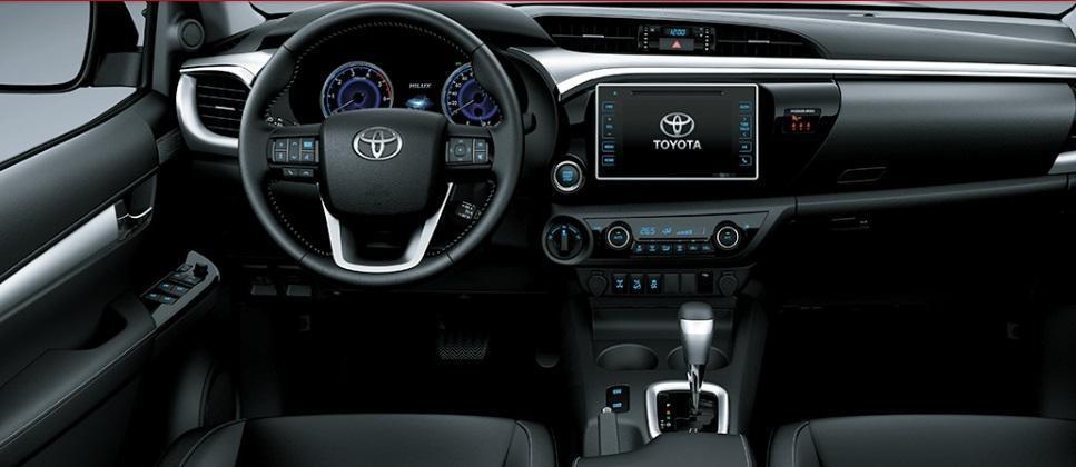 Toyota Hilux 2018 interior