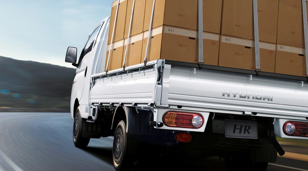 Hyundai HR 2018 com carga