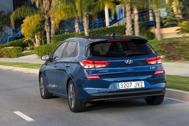 Hyundai i30 2018 traseira