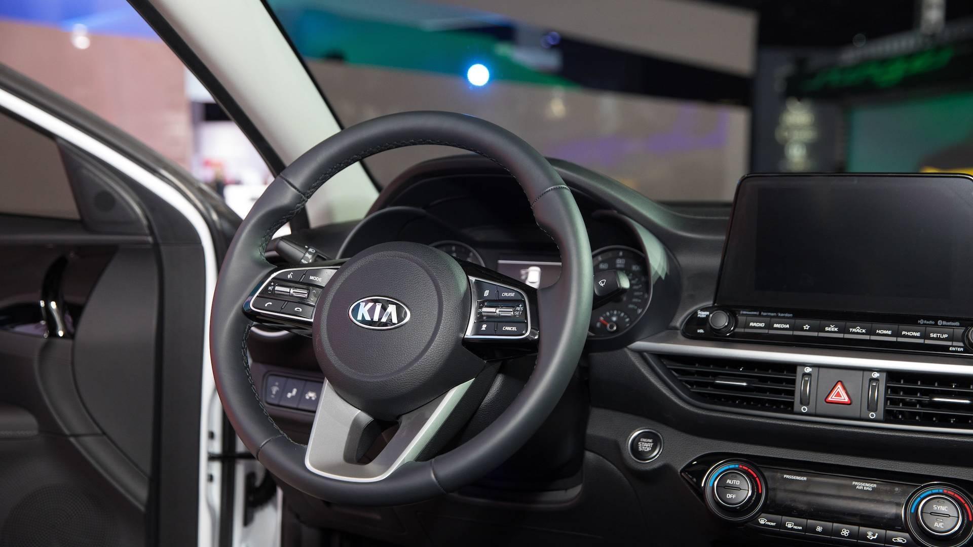 Kia Cerato 2019 volante