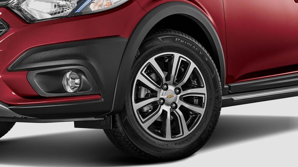 Detalhe Chevrolet Onix Activ