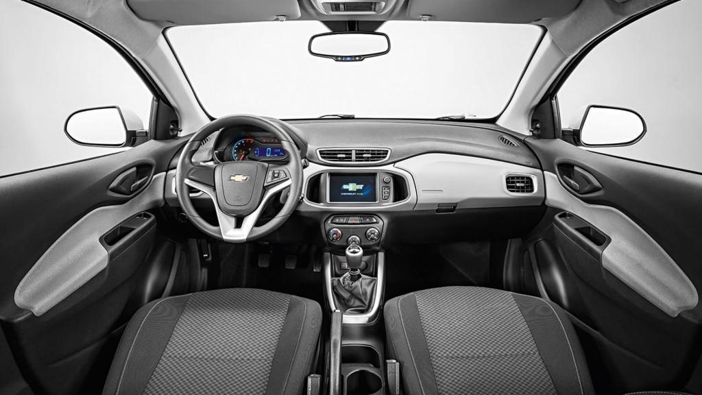 Interior do Chevrolet Onix 2018