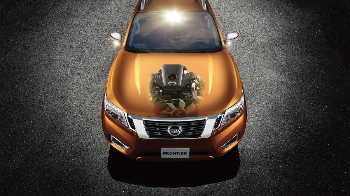 Motor da Nova Nissan Frontier 2018
