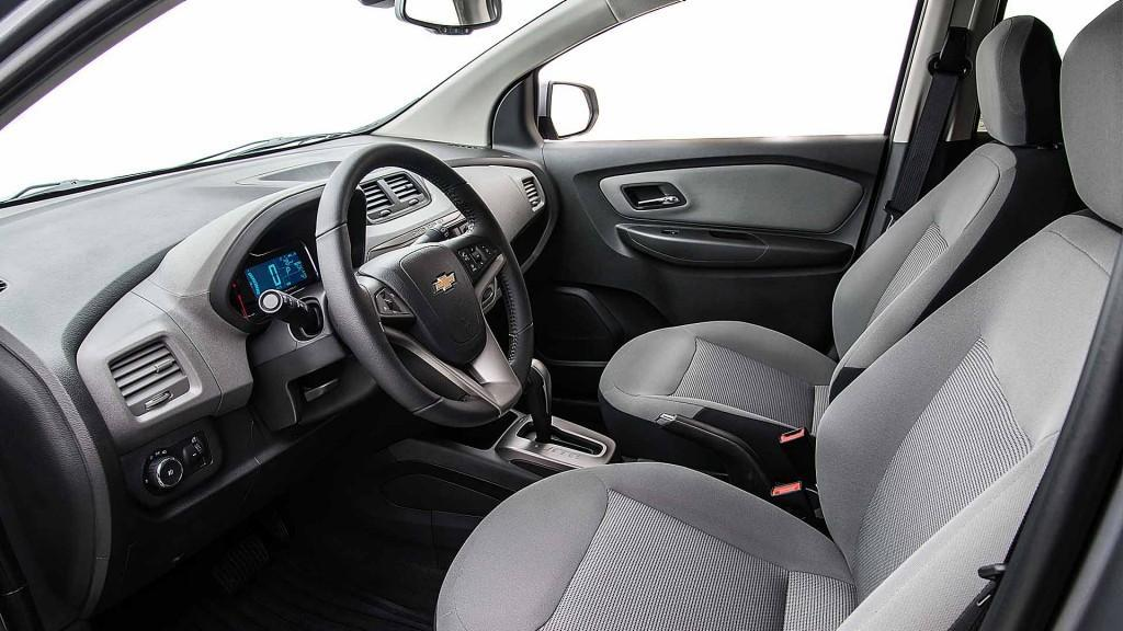 Interior do Chevrolet Spin