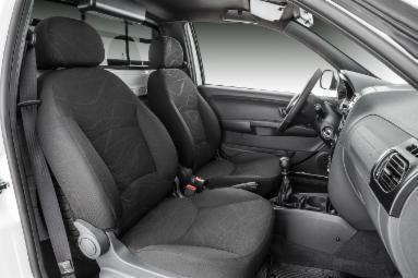 Interior da Fiat Strada 2018