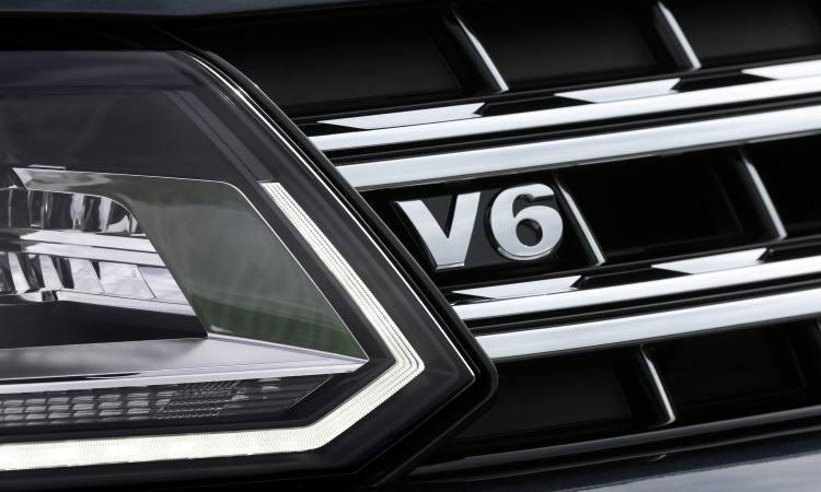 Nova Amarok V6 2018 detalhe