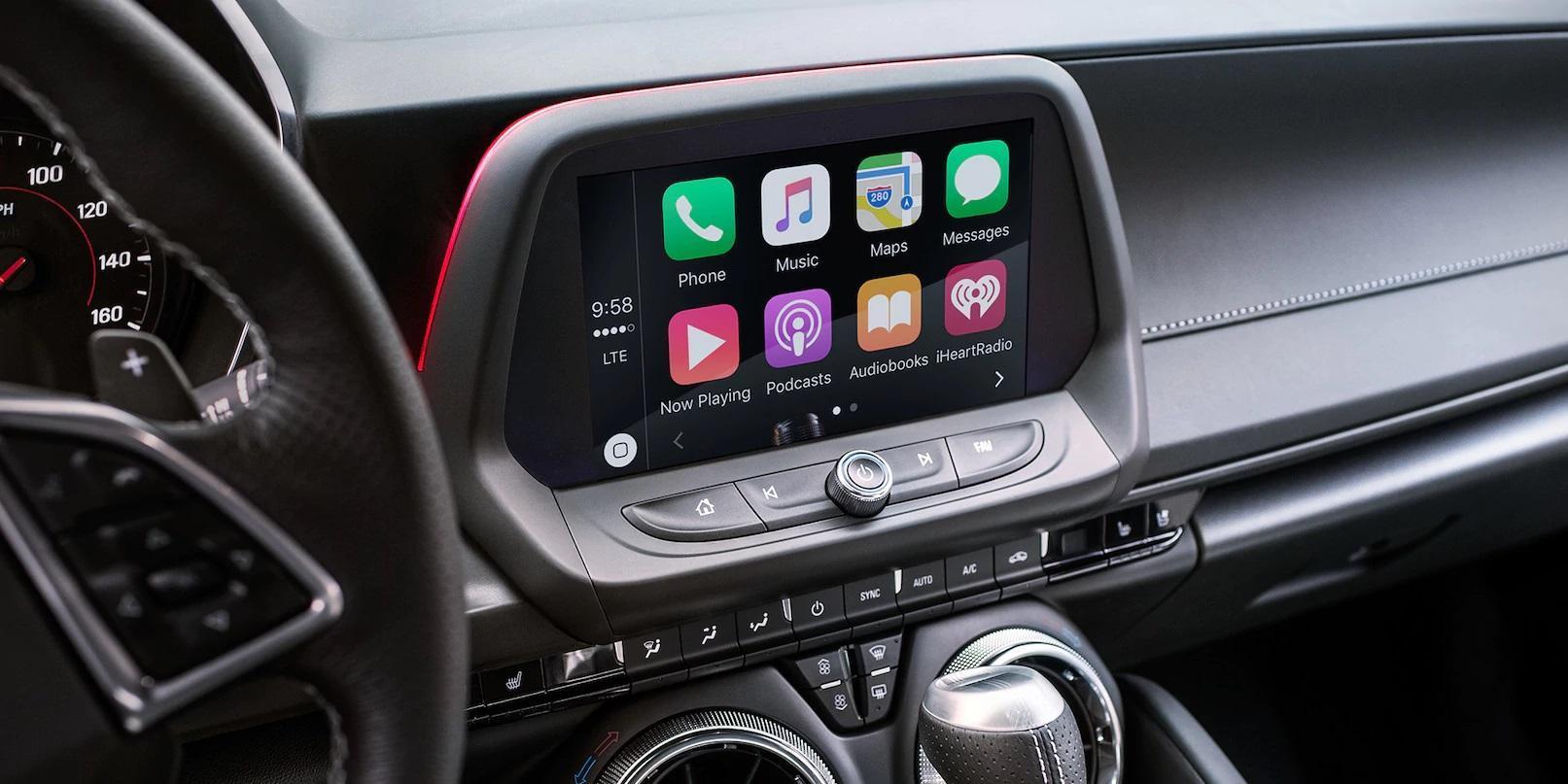 Tecnologia do Camaro 2018