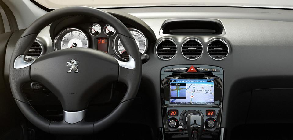 Novo Peugeot 308 - interior
