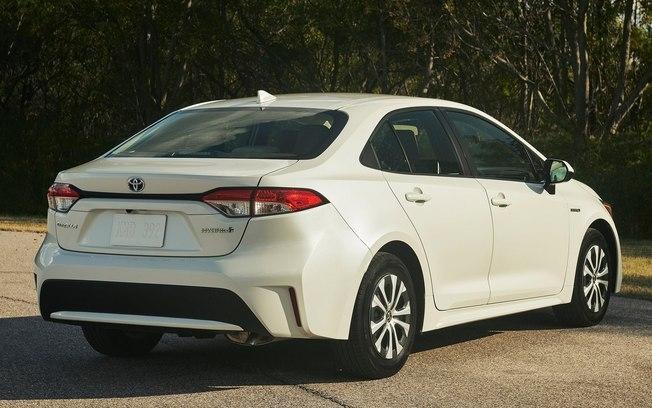 Novo Toyota Corolla - traseira