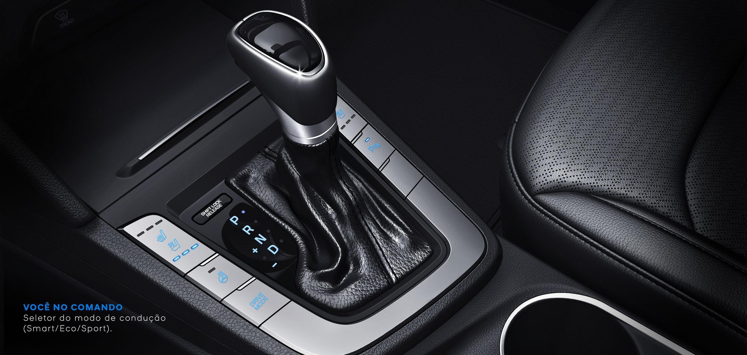 Hyundai Elantra 2018 câmbio