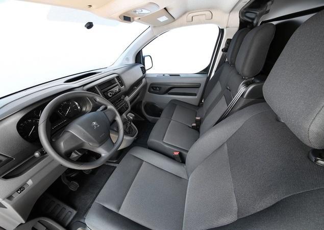 Novo Peugeot Expert - conforto