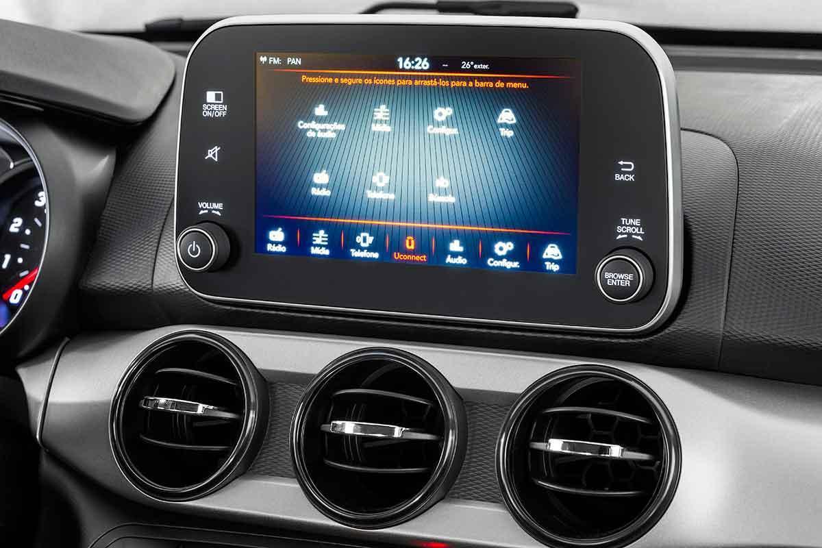 Fiat Argo 2018 Central Multimidia