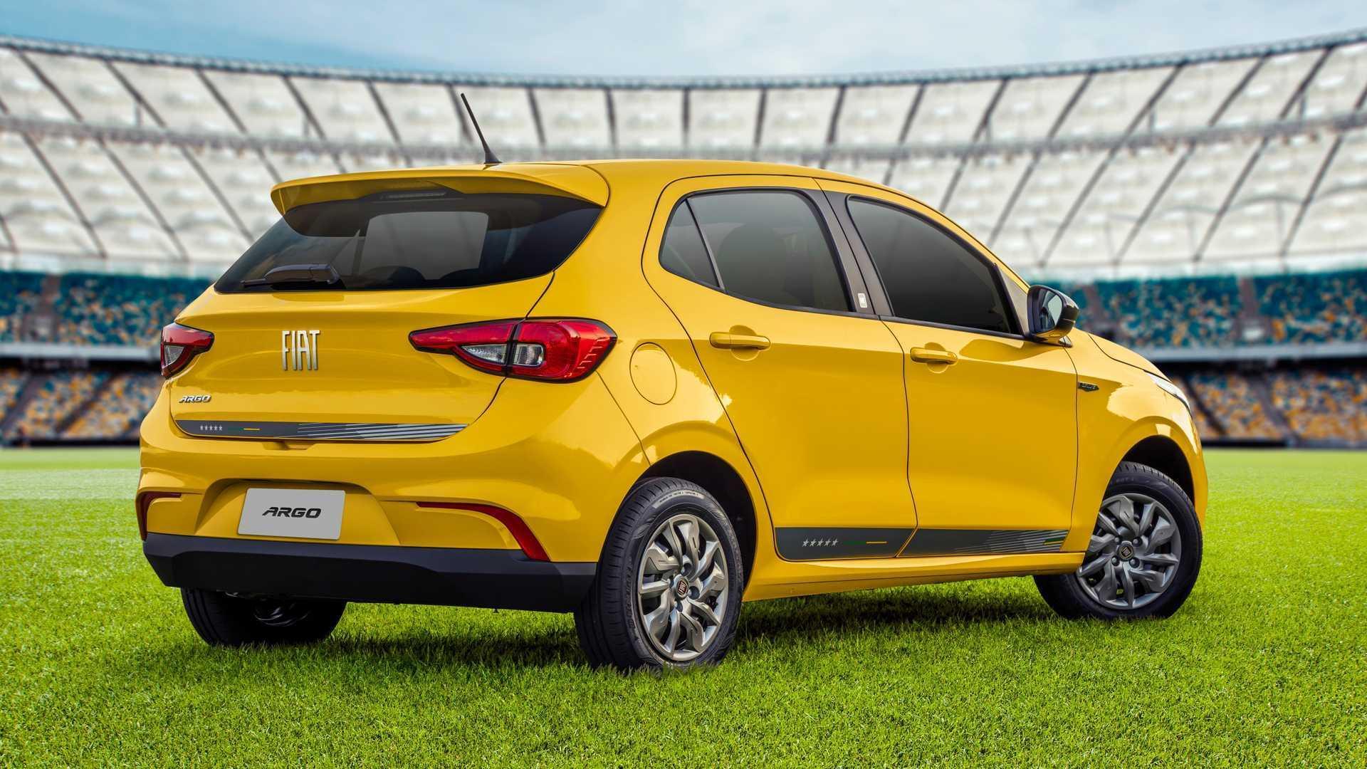 Fiat Argo Seleção - traseira