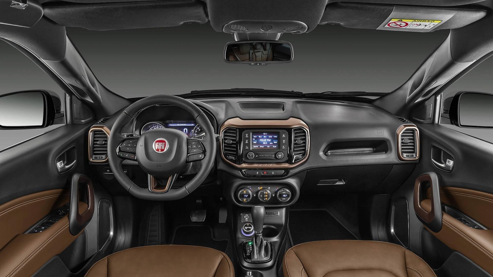 Fiat Toro Ranch 2019 - interior