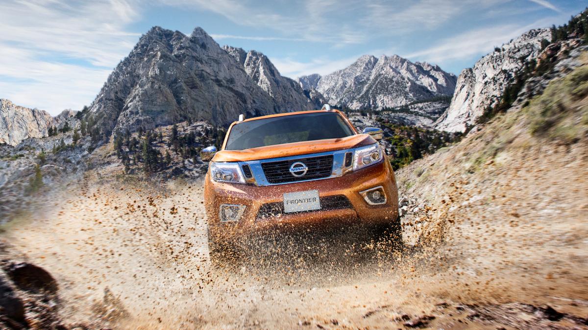 Nissan Frontier em ação