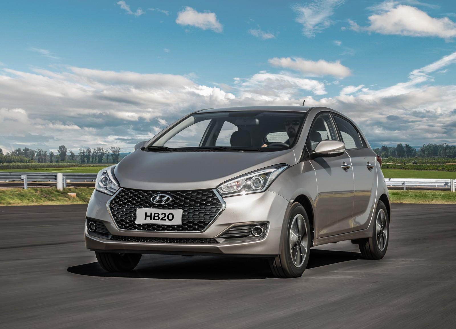 Design do Hyundai HB20 2019