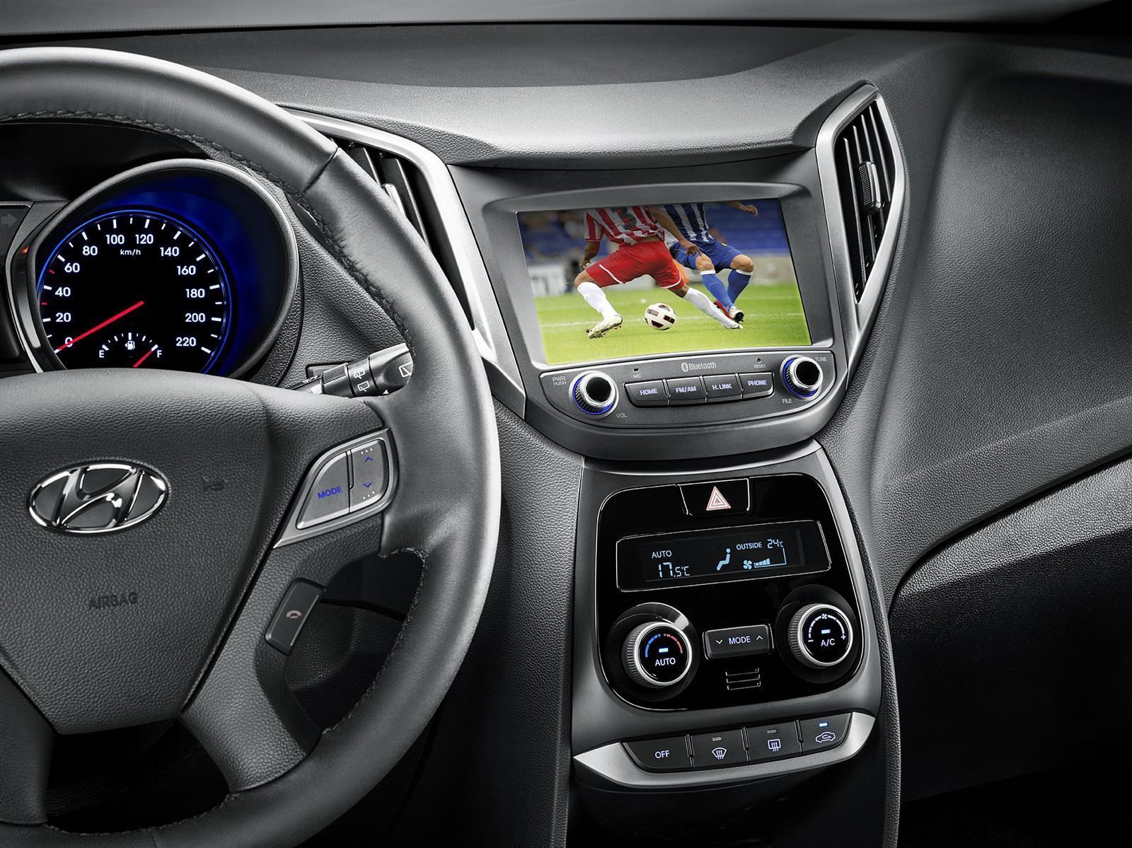 Central multimídia do Hyundai HB20 2019