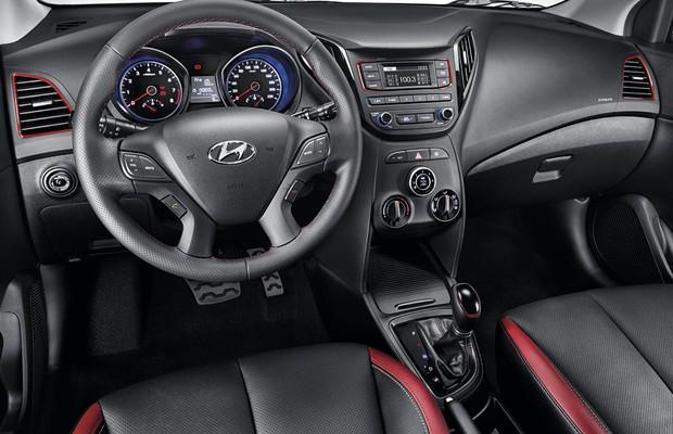 Interior do novo Hyundai HB20 R Spec