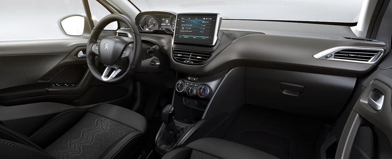Interior do Peugeot 2008