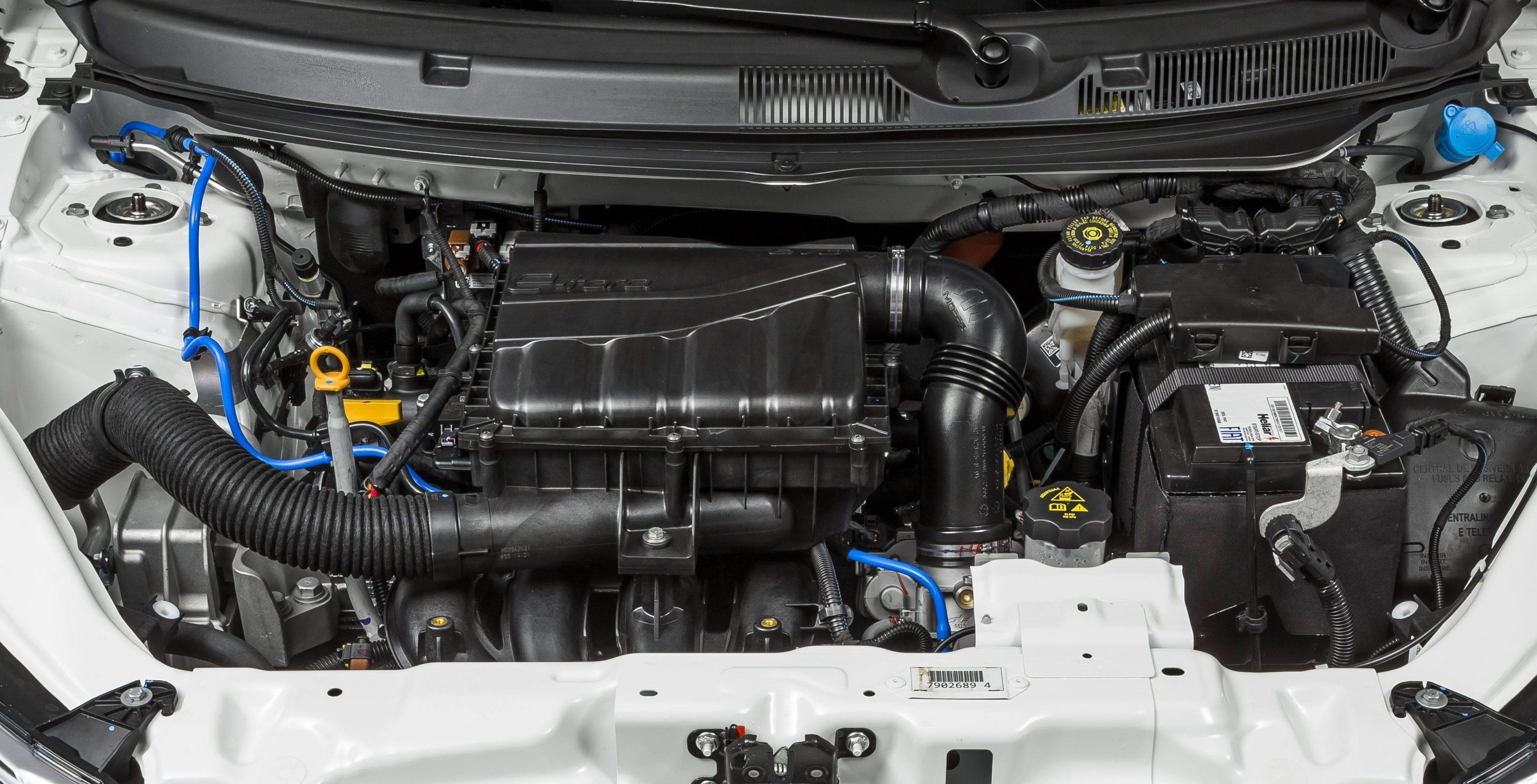 Motor do Fiat Argo Precision