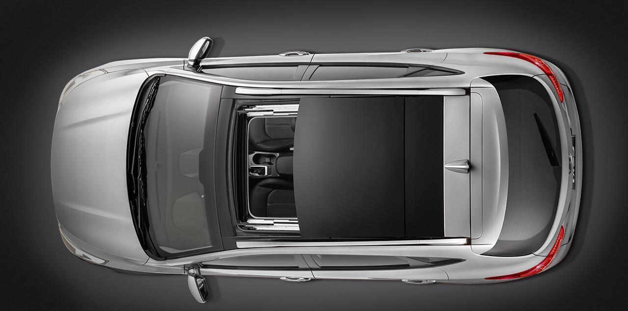 Hyundai ix35 2018 de cima