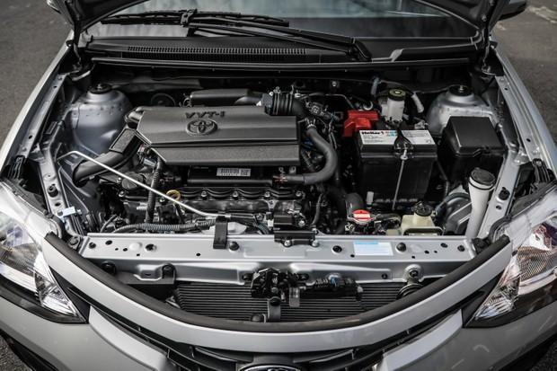 Motor do Toyota Etios 2018