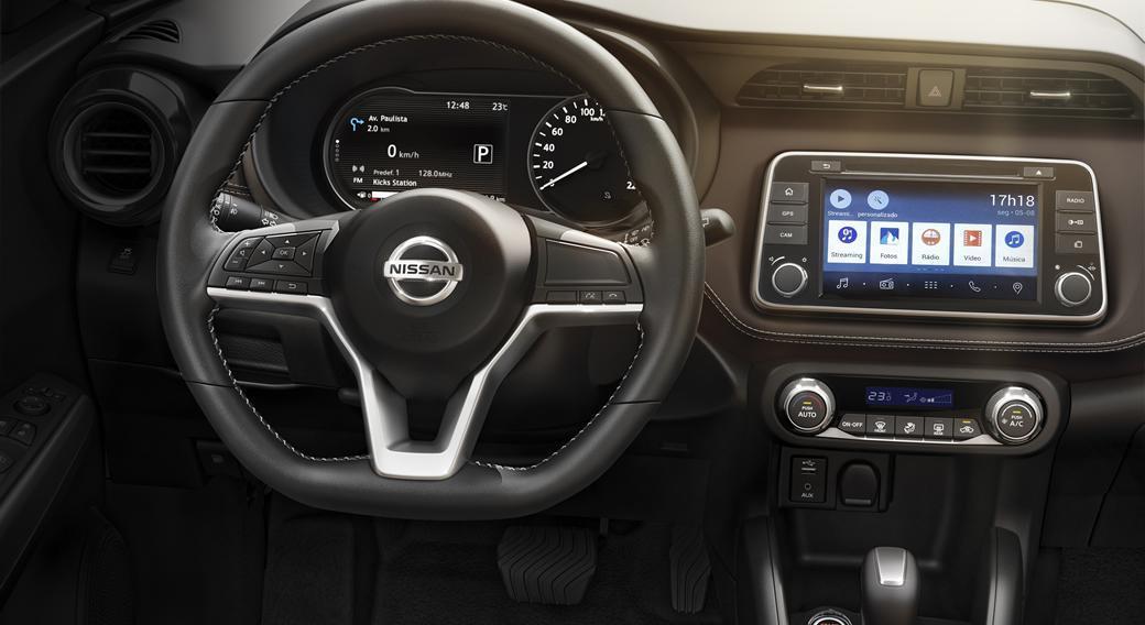 Volante do Nissan Kicks 2018