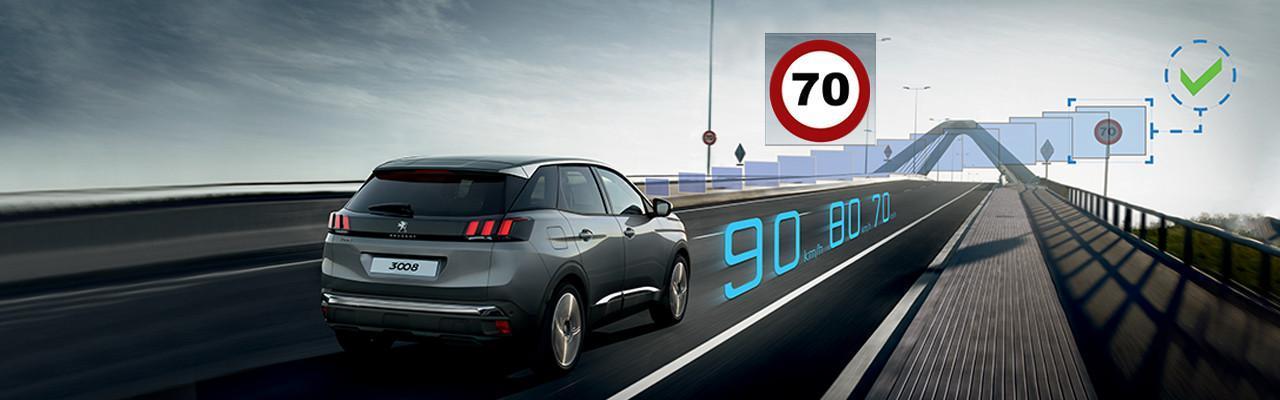 Controle de velocidade - Peugeot 3008