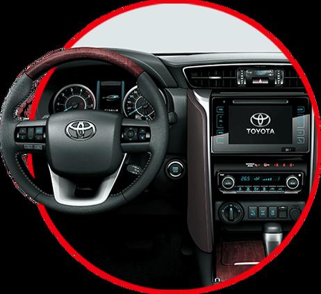Toyota SW4 2018 tecnologia