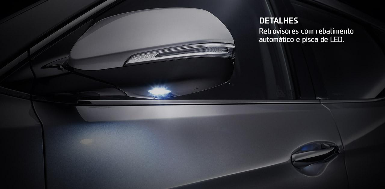 Hyundai Santa Fe 2018 retrovisor