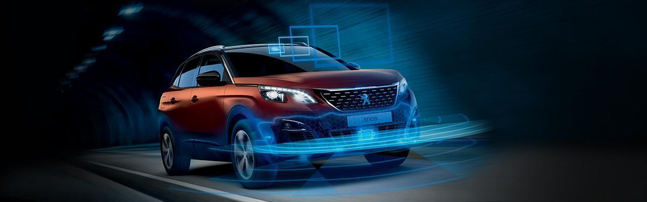 Peugeot 3008 segurança
