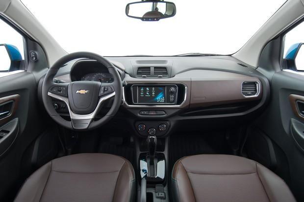 Interior Chevrolet Spin 2019