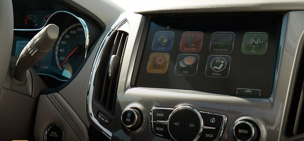 Novo Chevrolet Cruze 2018 tecnologia