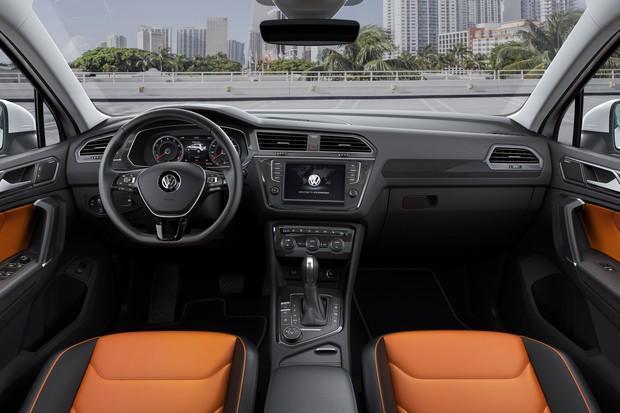 Interior do Volkswagen Tiguan 2018