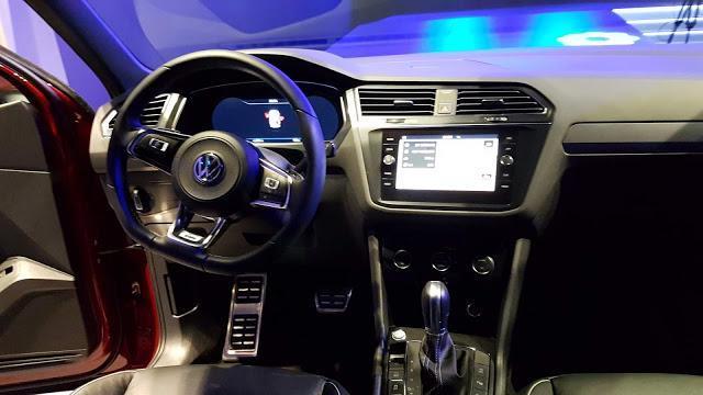 Interior da Volkswagen Tiguan Allspace 2019